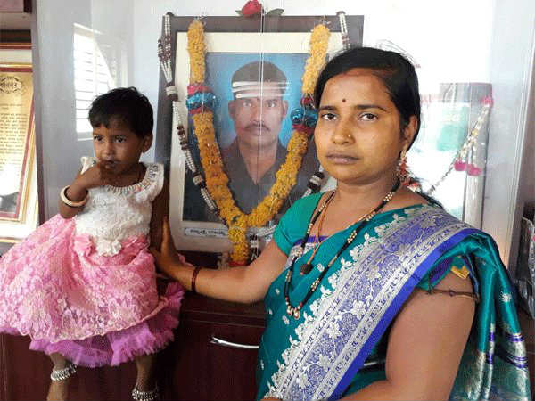 OneIndia impact: First day at work for Siachen braveheart Hanumanthappa's wife
