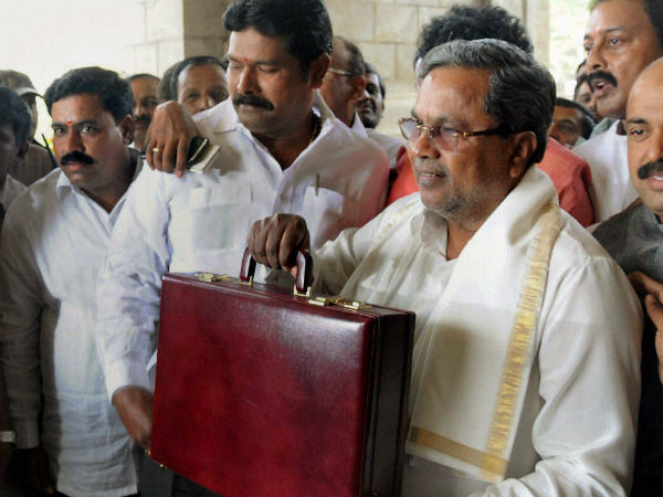 With a huge pressure CM Siddaramaiah present his 2017-18 budget