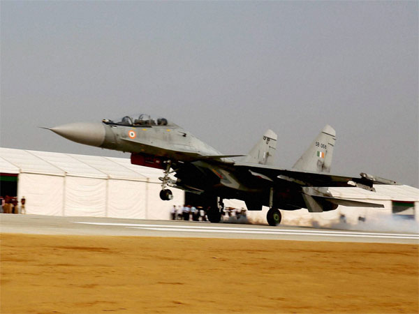 An Indian Air Force plane crashed near an air base in Rajasthan's Barmer