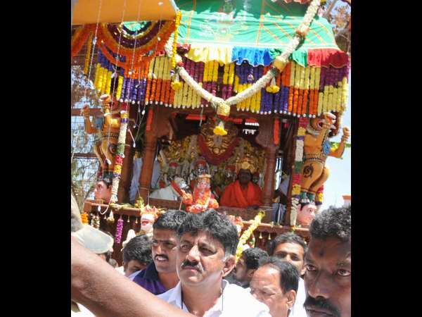Village fest takes place in Magadi Taluk