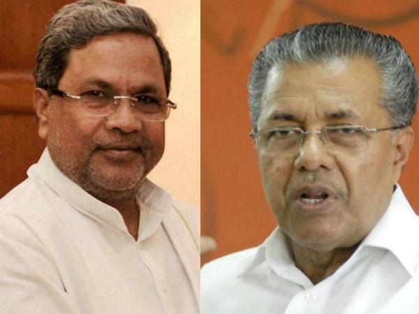 Kerala Cm Thanks Siddaramaiah His Uneventful Mangaluru Visit