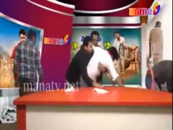 ಪವರ್ ಸ್ಟಾರ್ ಸಿನಿಮಾಗೆ ತ್ರಿಸ್ಟಾರ್: ಟಿವಿ ನೇರ ಪ್ರಸಾರದಲ್ಲಿ ಅಭಿಮಾನಿಗಳ ದಾಂಧಲೆ