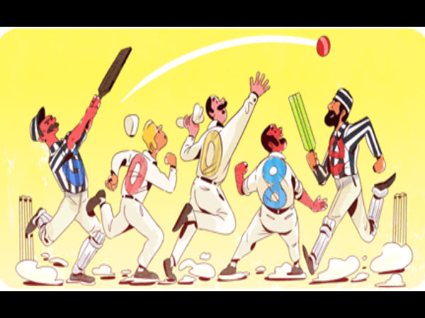 Google celebrates 140th anniversary of first official Test cricket match with a Doodle