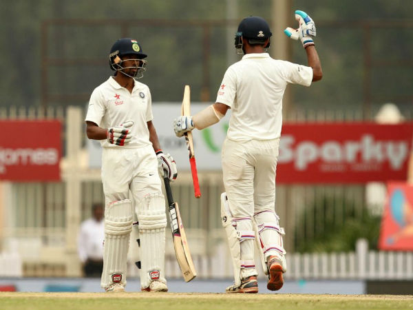 India Vs Australia, Day 4: Hosts score 503/6 at Tea; Saha-Pujara maintain domination