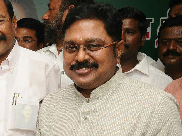 AIADMK's TTV Dinakaran named as accused in FIR for offering bribe