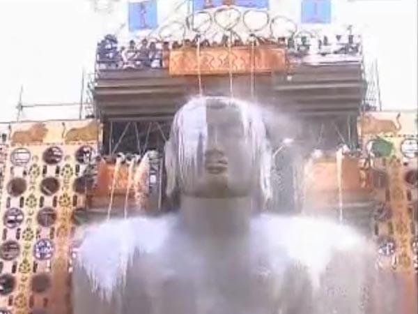 ಮಹಾಮಸ್ತಕಾಭಿಷೇಕ ಕಾಮಗಾರಿಗೆ ಸಿಎಂ ಶಿಲಾನ್ಯಾಸ