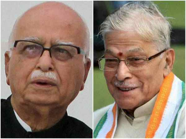 Lk Advani Meets Murli Manohar Joshi After Supreme Court Setback