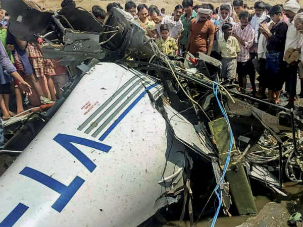 Killed In Trainee Aircraft Crash Near Gondia In Maharashtra