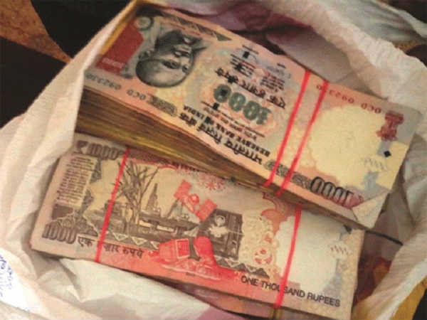 Banned notes worth Rs 18 lakh seized by Bhatkal railway police