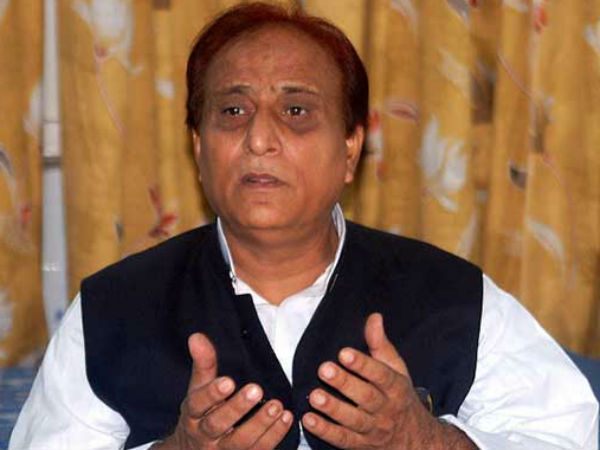 SP leader Azam Khan returns cow gifted by Swami Adhokshjanand Maharaj