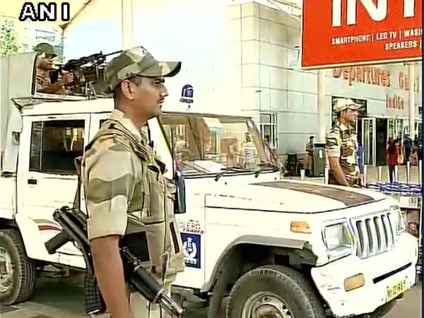 Hijack threat call, Security tightened at Chennai, Mumbai & Hyderabad airports