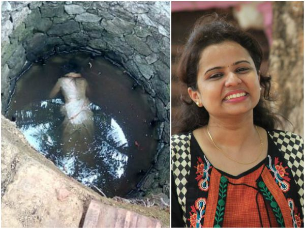 Married woman dead body found in well, seems too be suicide