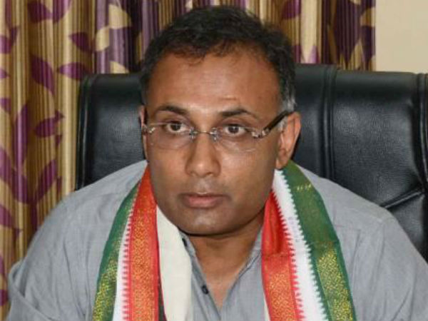 Congress big win in by election: KPCC working President Dinesh Gundurao thanks to SM Krishna