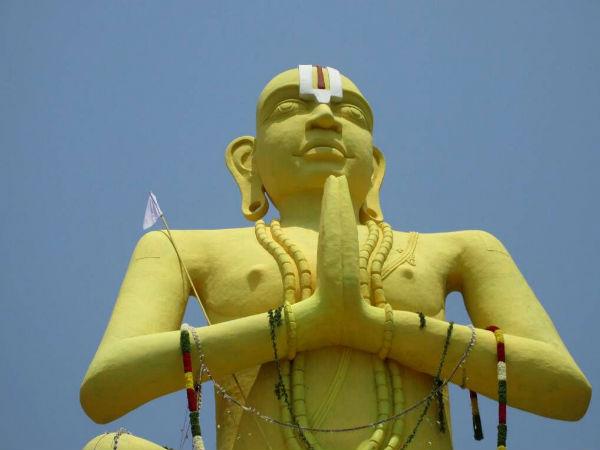 ಮೇಲುಕೋಟೆ ಬಳಿ ರಾಮಾನುಜಾಚಾರ್ಯ ಪ್ರತಿಮೆ ಅನಾವರಣ