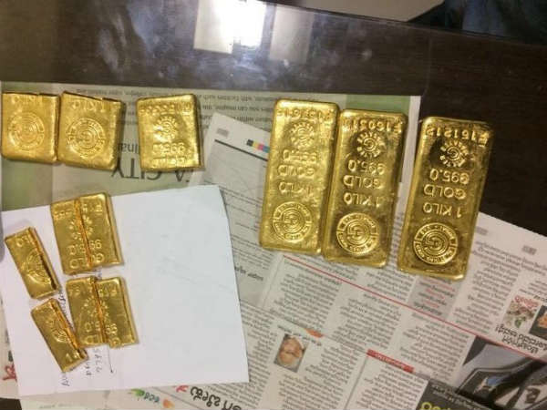 6 kg gold concealed in toilet of Bengaluru-bound flight