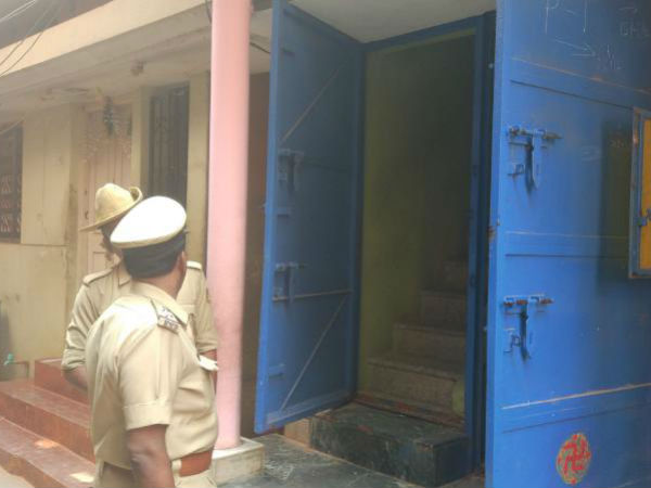 Illegal weapon illegality Police raids on rowdy bomb Naga's house in bengaluru