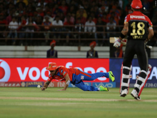 IPL 2017: Video: McCullum takes incredible 'catch' of Gayle