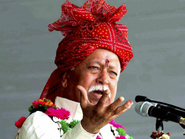 RSS chief Mohan Bhagwat calls for nationwide ban on cow slaughter