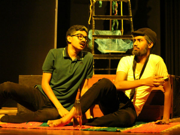 Jogi's Kannada play Ask Mr YNK at Rangashankara