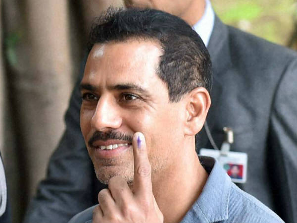 Enforcement Directorate raids Robert Vadra's close associate Mahesh Nagar