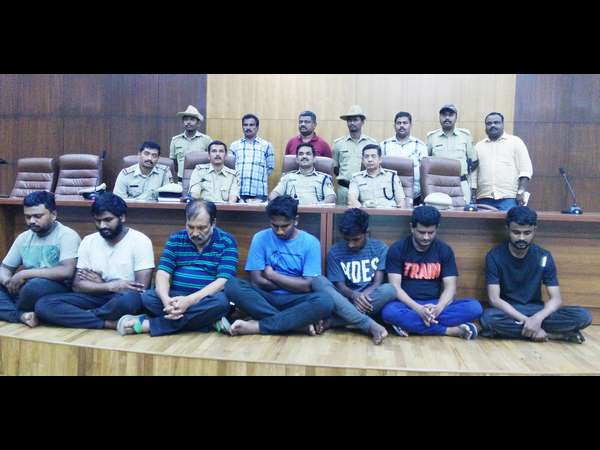 A woman's murder case: 7 supari killers arrested
