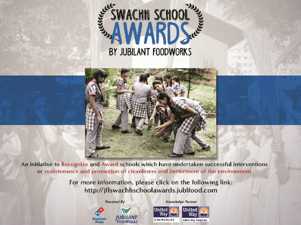 Swachh School Awards Campaign by United Way Bengaluru