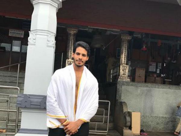 ಧರ್ಮಸ್ಥಳ ಮಂಜುನಾಥನ ದರ್ಶನ ಪಡೆದ ನಿಖಿಲ್ ಕುಮಾರಸ್ವಾಮಿ