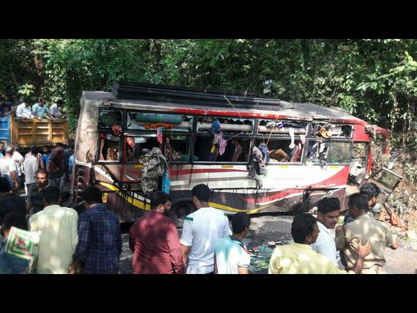 Belthangady : Charmadi Ghat Accident Kerala bus overturns Many killed