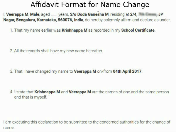 how to download name change gazette