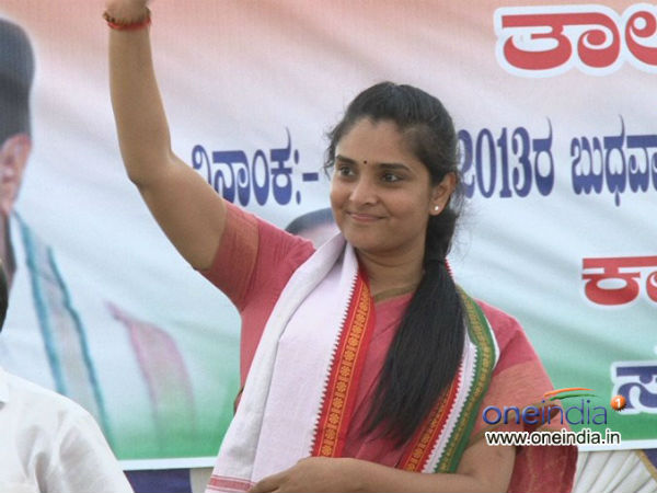Lolly pup sent to former MP Ramya by BJP party workers of Mandya