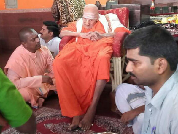 Siddaganga Mutt Seer Shivakumar Swamiji Recovered