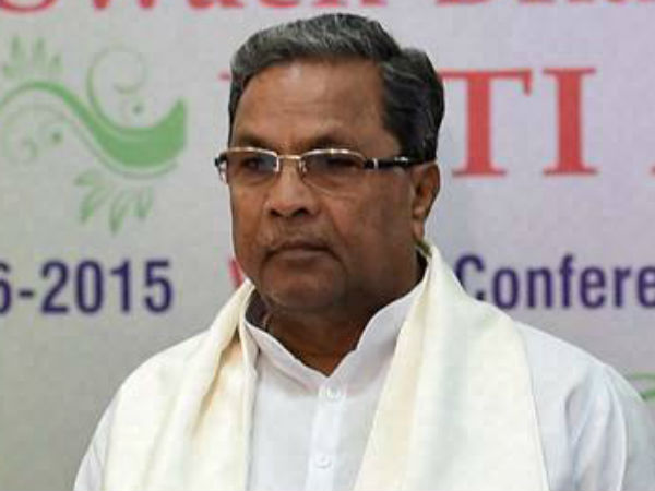 CM Siddaramaiah lashed out at officials of Mysore