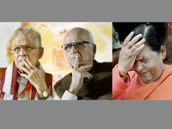 Babri Masjid Demolition Case Advani And 12 Others Charged With Criminal Conspiracy