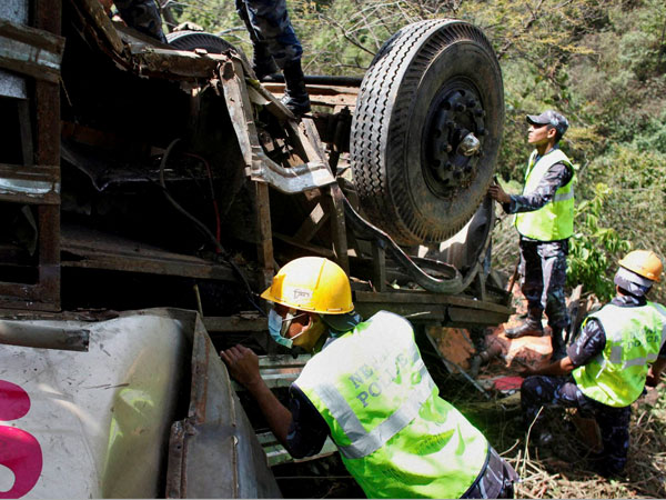 Uttarkashi Bus Accident 22 Killed After Bus Falls Into Gangotri River