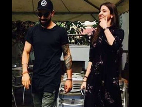 Virat Kohli Takes Break From Ipl Goes A Lunch Date With Anushka Sharma