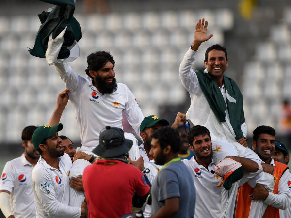 Winning farewell for Misbah-ul-Haq and Younis Khan