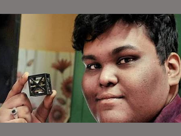 Indian teen designs 'KalamSat,' World's lightest satellite that will be launched by NASA