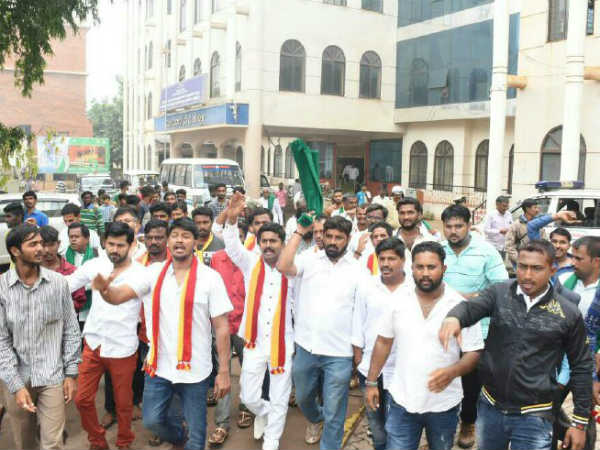 No Good Response For Karnataka Bandh In Hubballi