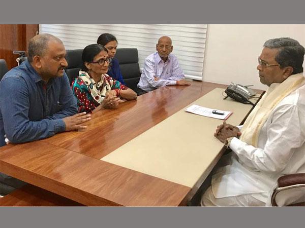 Disappointed With Yogi Govt Anurag Tewari S Family Seeks Siddaramaiah Help