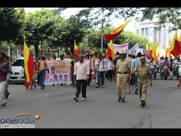 Pro Kannada Organization Called Karnataka Bundh Updates