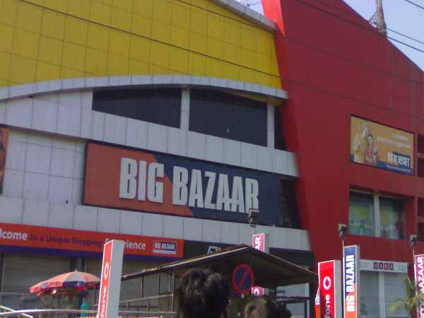 Food Security officers raid on big bazaar in Belagavi