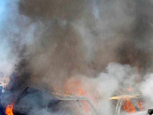 Dies 3 Injured In Blast Near Manipur Border