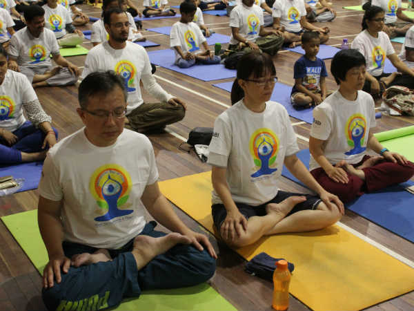 Yoga in Singapore, the Indian connection