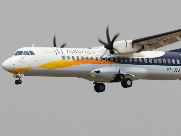 Jet Airways Flight Diverted Ahmedabad For Security Reasons