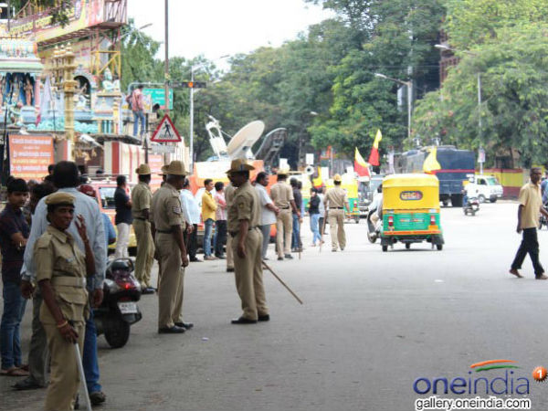 There Is No Positive Response To Karnataka Bandh In Bengaluru