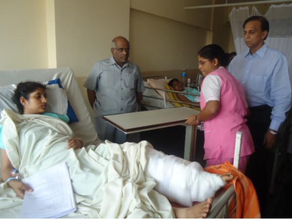 Government Offers Job To Malleswaram Blast Victim