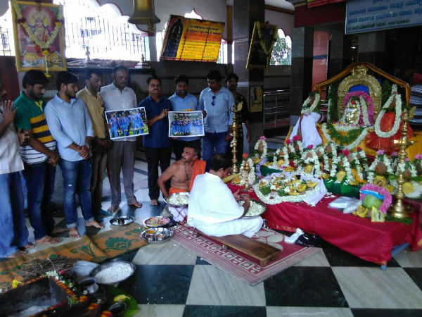 Cricket fans in Mysuru offered prayers for Team India's victory in Champions Trophy final