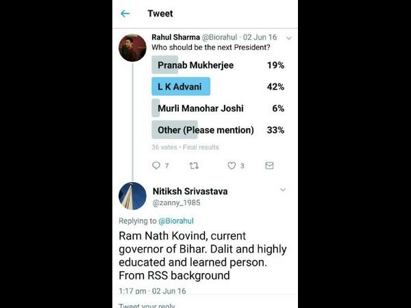 Tweeple Predicted Bjp S Presidential Candidate Kovind