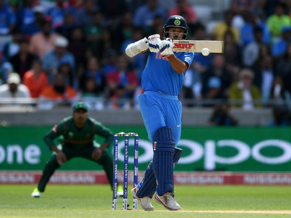 Shikhar Dhawan Continues Love Affair With Icc Champions Trophy