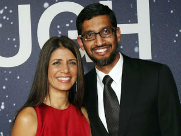 Beautiful Love Story Of Google Ceo Sundar Pichai And Anjali Pichai
